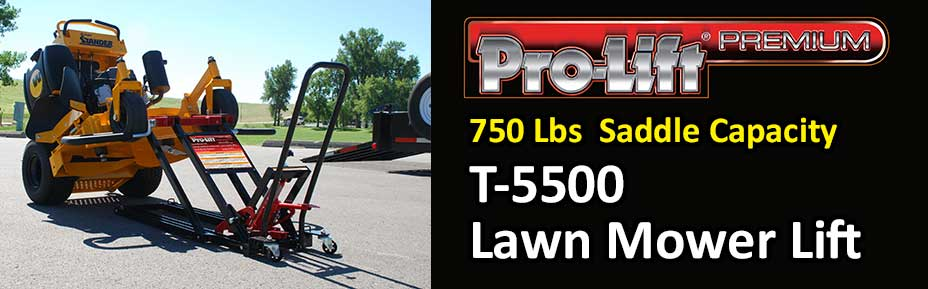 Prolift 350 LB capacity T-5350B Lawnmower Lift