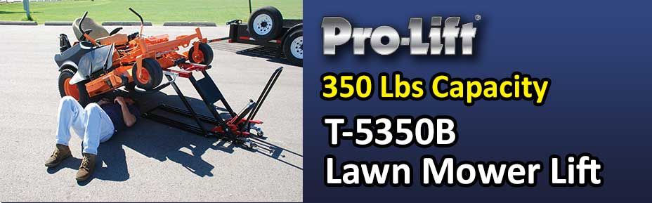 Prolift Premium 750 LB Saddle Capacity T-5500 Lawnmower Lift